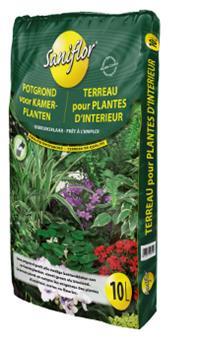 Sani Terreau Plantes d´Interieur 10 Litres