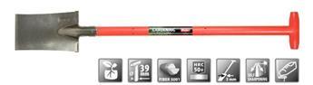 Beche Polet Pro. 320 160 mm manche rouge T fibre 5001 ** Ultra solide**