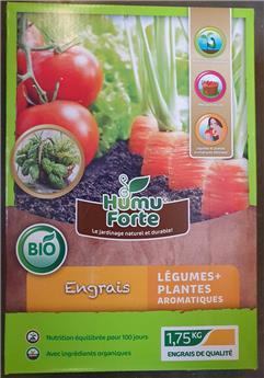 HumuForte Engrais Legumes et Aromatique 1.75kg BIO