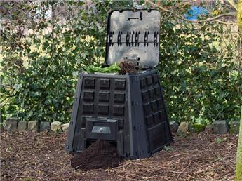 Silo à compost 400 L 80 88 Ht 88 cm