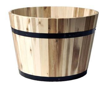 Tonneau Acacia Barrel FSC Round D50 H38 (Mg)