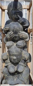 Standing Monks Tower - les 3 maximes de la sagesse