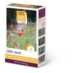 Prairie fleurie Coté Nord 60 g 7M² Nova Flore