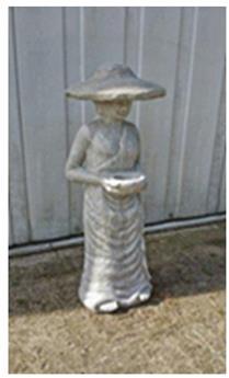 Fermier avec chapeau Ht 120 cm (Farmer-ref)