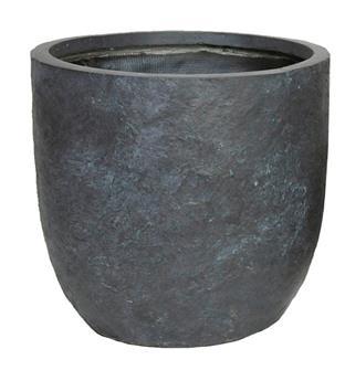 Pot Arizona Egg Pot Graphite D25 H25 cm (Mg)