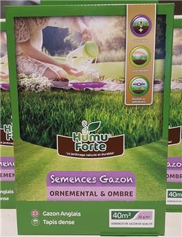 Humuforte semences gazon pro Ombre 800 gr