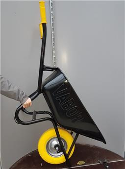 Brouette noire 90 L avec roue increvable