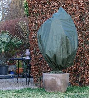 Housse hiver vert Ht 300  diam 250 cm 70 gr/M²