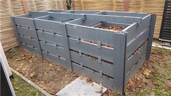 Bac à compost ecolat EXTENSION pour Ht 100 larg. 100  Prof. 120