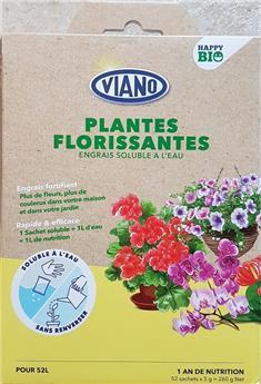 Viano Engrais soluble BIO floraison 52 sachets