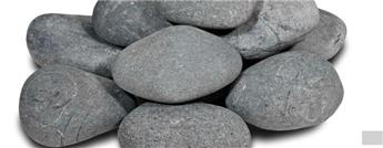 Galets beach pebbles noir 12 15 cm vrac / kg