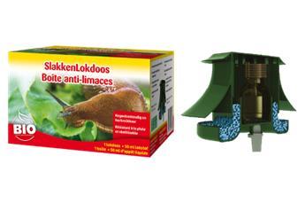 Ecostyle boite anti - limaces + attractif 50 ml : idéal par météo humide