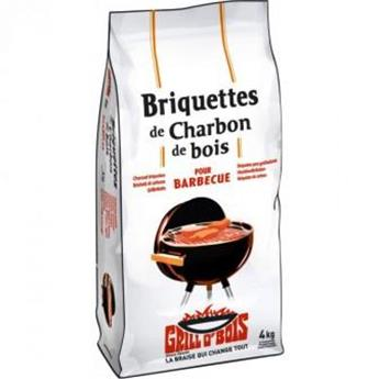 Briquettes de charbon de bois 4 kg