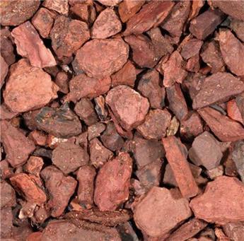 Gravier schiste Rouge 6 - 15 mm sac 20 kg