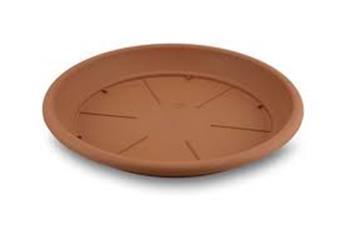 Soucoupe Plastique 20 Cm Terracotta